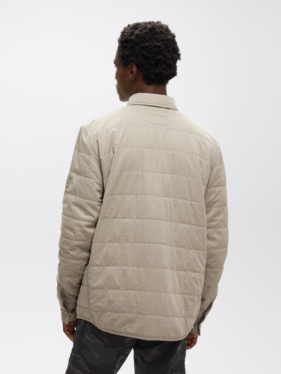 QUILTED SHIRT UTILITY JACKET OUTERWEAR Alpha Industries, Inc.