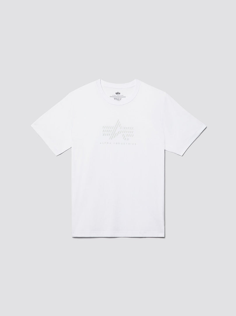 REFLECTION 'A' LOGO TEE SALE Alpha Industries WHITE 2XL