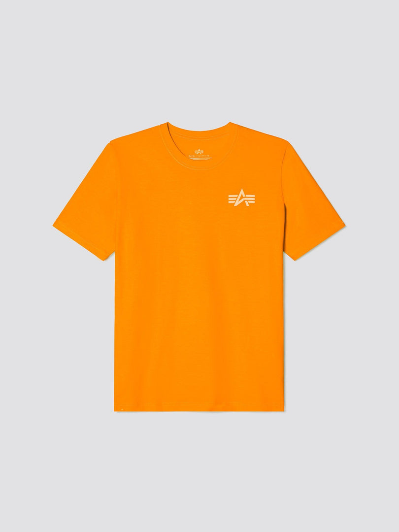 REFLECTIVE SMALL LOGO TEE SALE Alpha Industries, Inc. EMERGENCY ORANGE 2XL