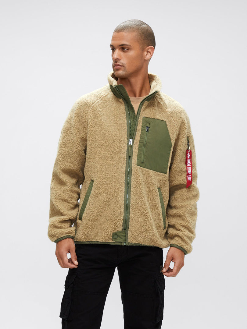 RIDGE UTILITY JACKET OUTERWEAR Alpha Industries CREAM 2XL