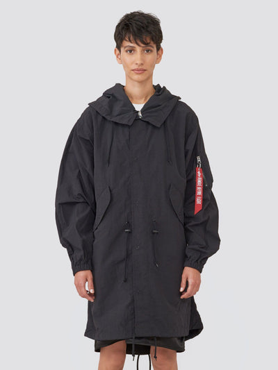 SHELL FISHTAIL PARKA W SALE Alpha Industries BLACK L