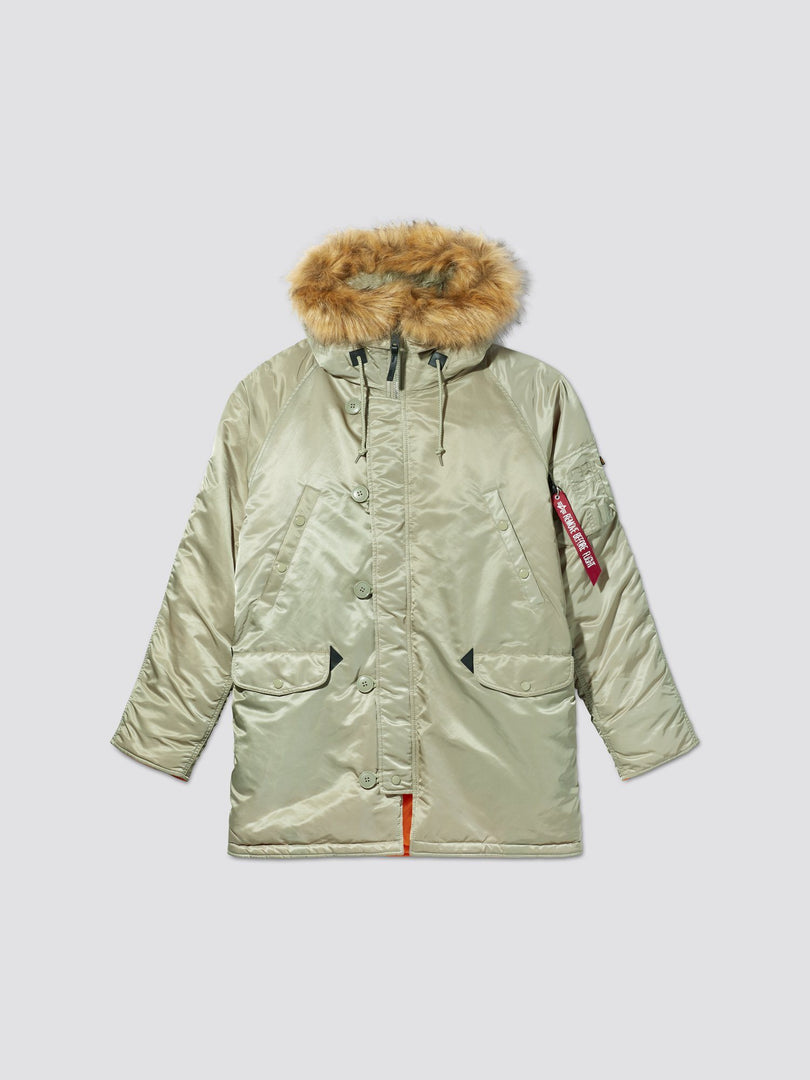 SLIM FIT N-3B PARKA - Not live as of 1.10.20 OUTERWEAR Alpha Industries