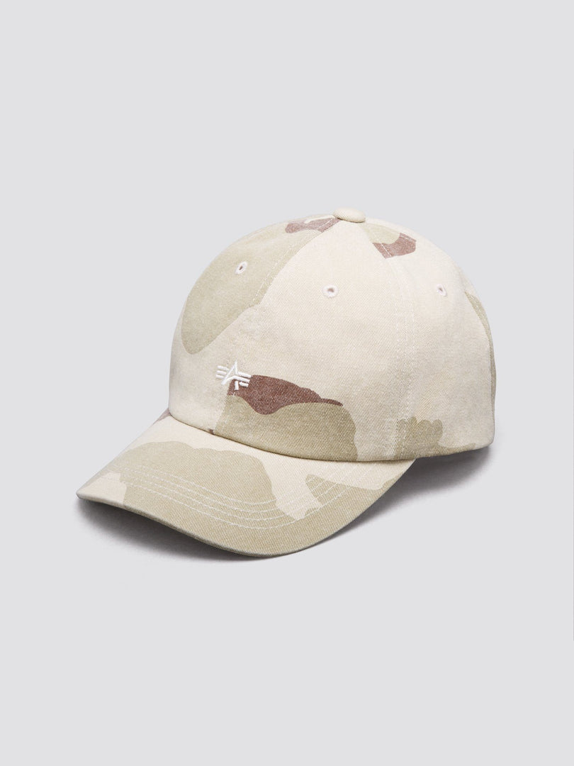 SMALL FLYING A LOW CAP ACCESSORY Alpha Industries, Inc. DESERT CAMO O/S