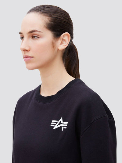 SMALL LOGO CREWNECK SWEATSHIRT TOP Alpha Industries