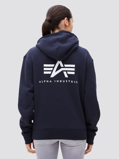 SMALL LOGO HOODIE TOP Alpha Industries