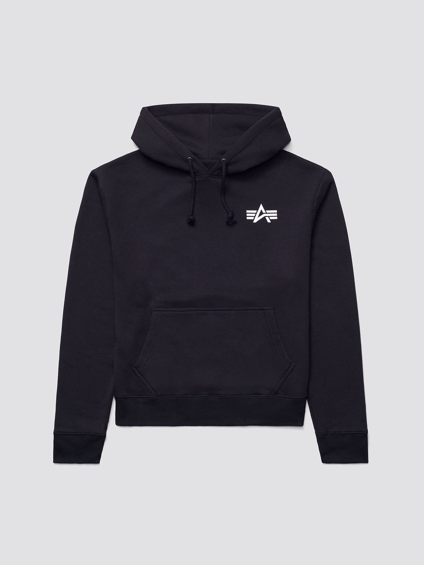 SMALL LOGO HOODIE TOP Alpha Industries BLACK 2XL