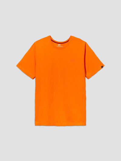 SMALL LOGO II TEE TOP Alpha Industries, Inc. EMERGENCY ORANGE 2XL