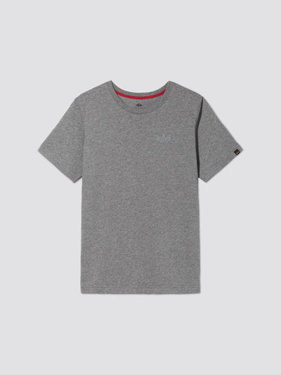 SMALL LOGO II TEE TOP Alpha Industries, Inc. MEDIUM CHARCOAL HEATHER 2XL