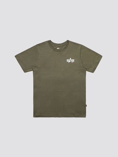 SMALL LOGO TEE TOP Alpha Industries OLIVE 2XL