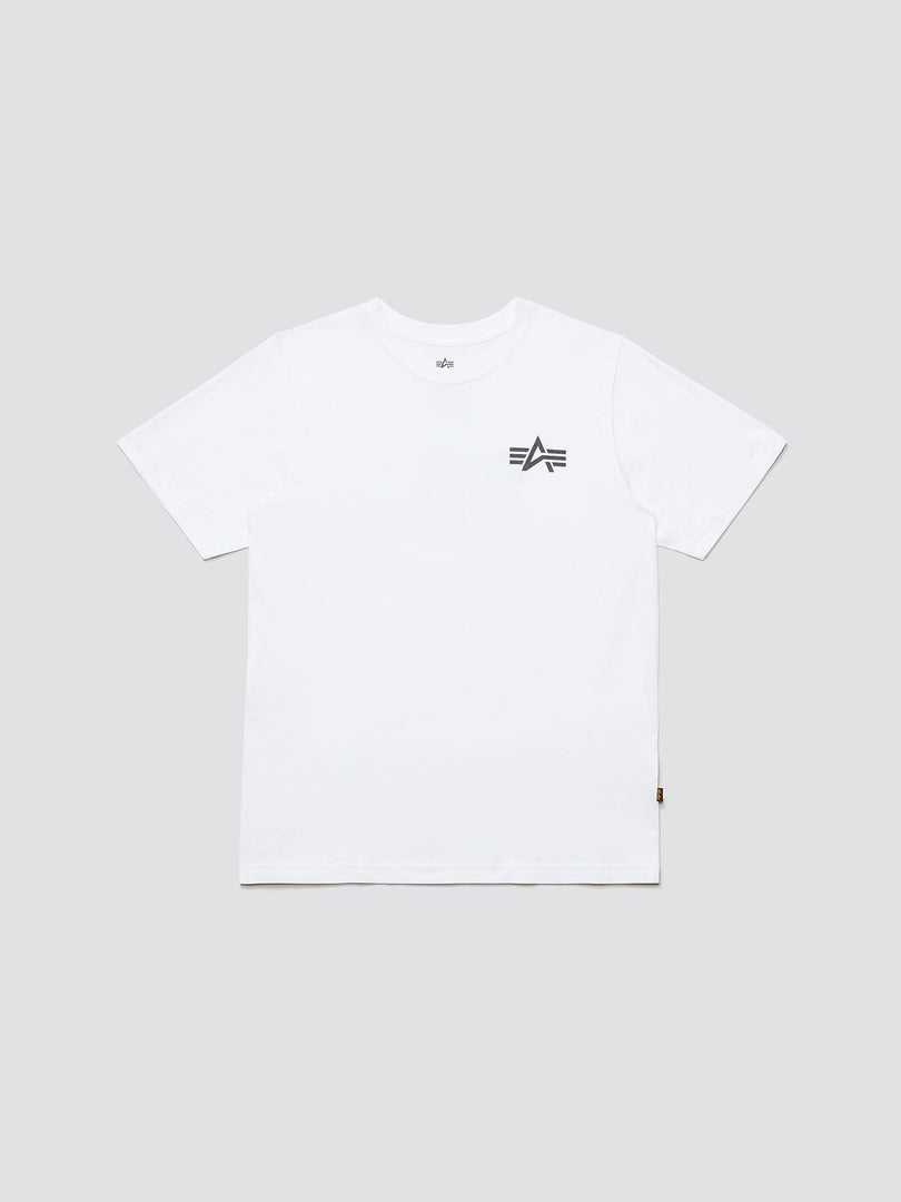 SMALL LOGO TEE TOP Alpha Industries WHITE 2XL