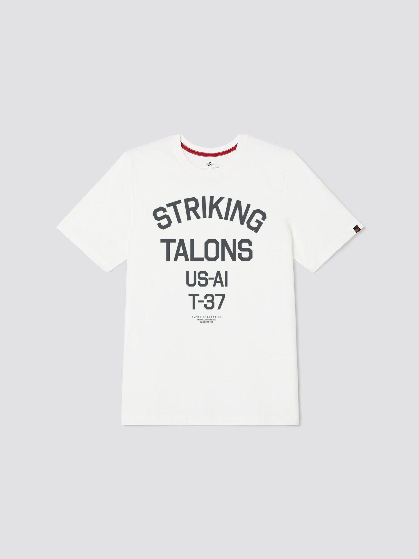 STRIKING TALONS TEE TOP Alpha Industries, Inc. WHITE 2XL