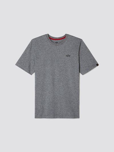 TONAL LOGO TEE TOP Alpha Industries, Inc. MEDIUM CHARCOAL HEATHER 2XL