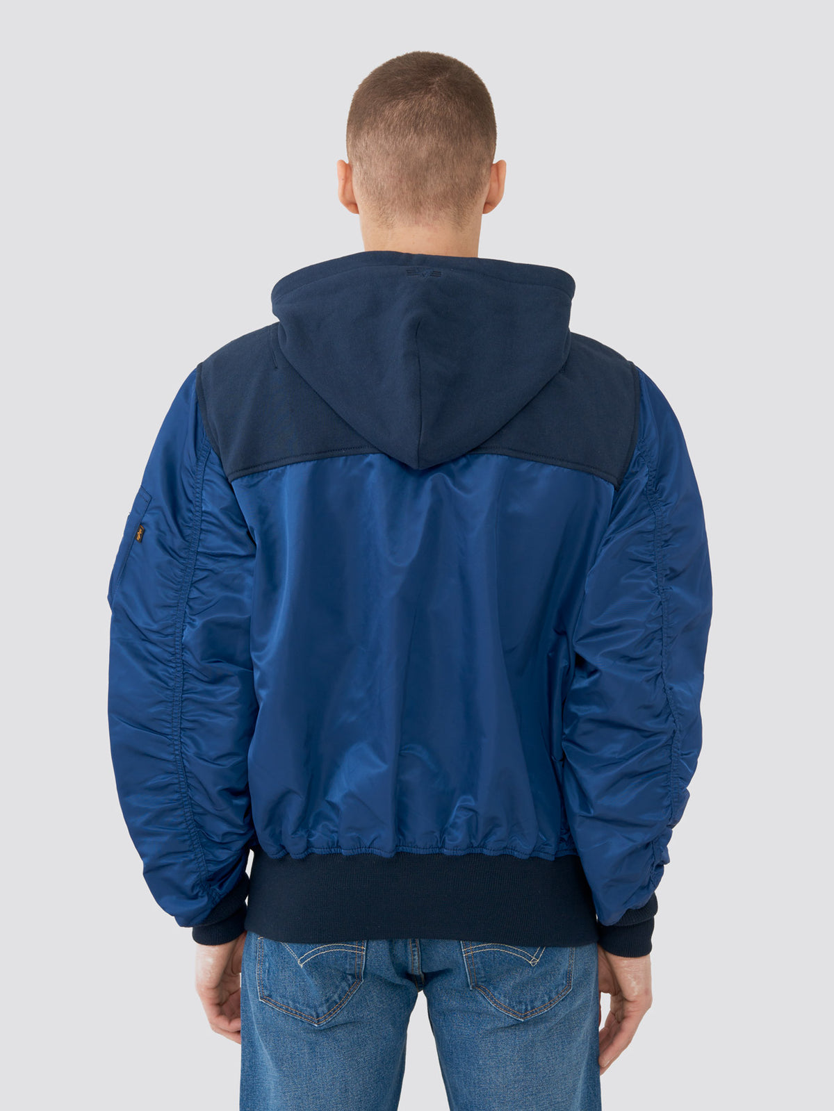 L-2B HOODED YOKE LOOSE FLIGHT JACKET