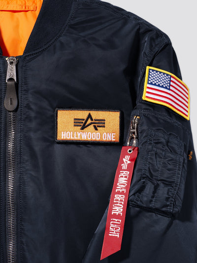 USCG HOLLYWOOD MA-1 BOMBER JACKET OUTERWEAR Alpha Industries, Inc.