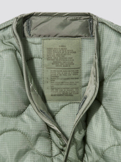 VINTAGE M-65 FIELD JACKET LINER OUTERWEAR Alpha Industries, Inc.