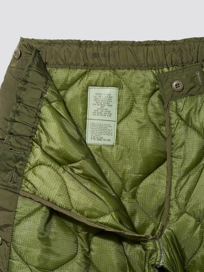 VINTAGE M-65 QUILTED FIELD LINER PANT BOTTOM Alpha Industries, Inc.