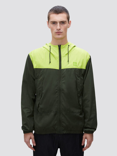 WINDBREAKER UTILITY JACKET (SEASONAL) SALE Alpha Industries, Inc. DEEP OLIVE XS