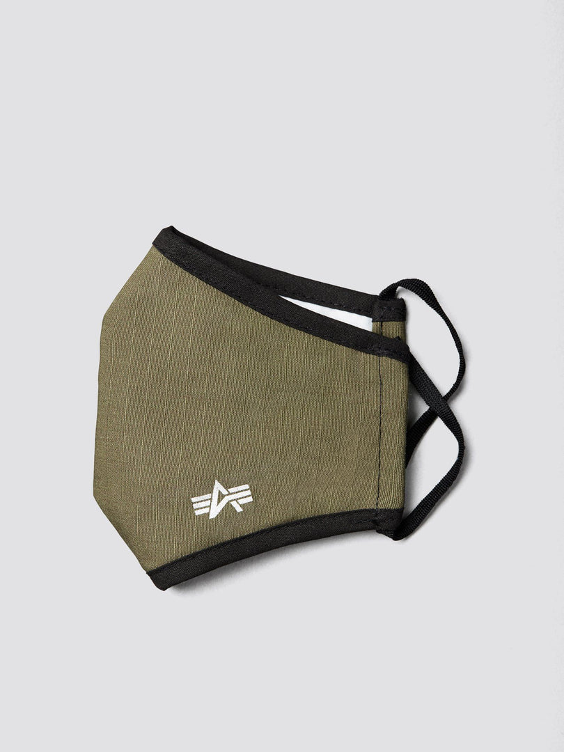YOUTH CLOTH MASK ACCESSORY Alpha Industries, Inc. OLIVE O/S