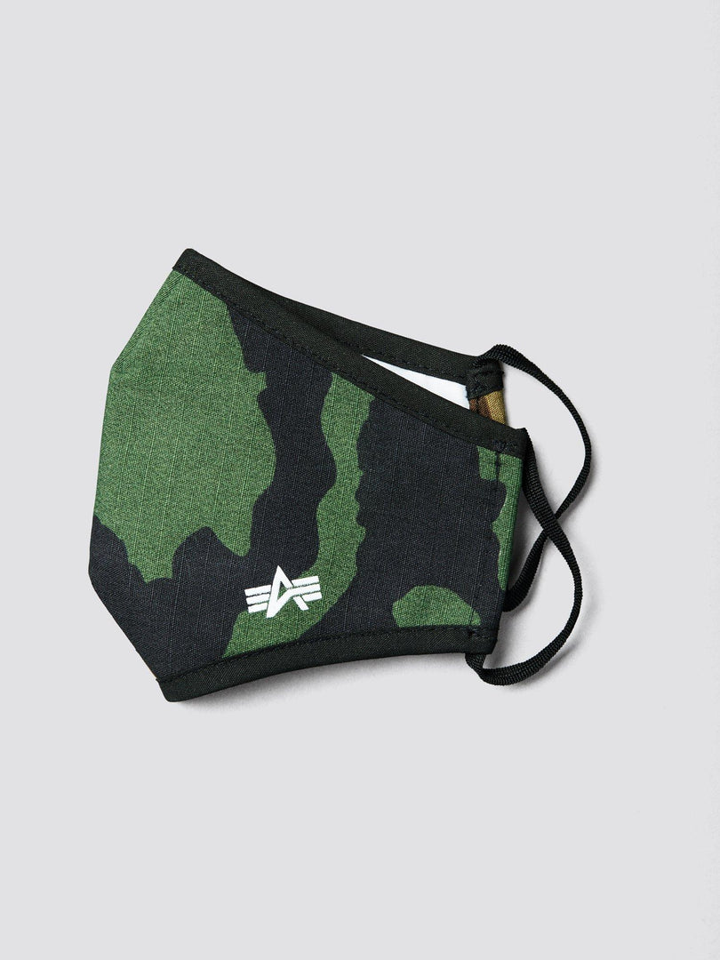 YOUTH CLOTH MASK ACCESSORY Alpha Industries, Inc. WOODLAND CAMO O/S