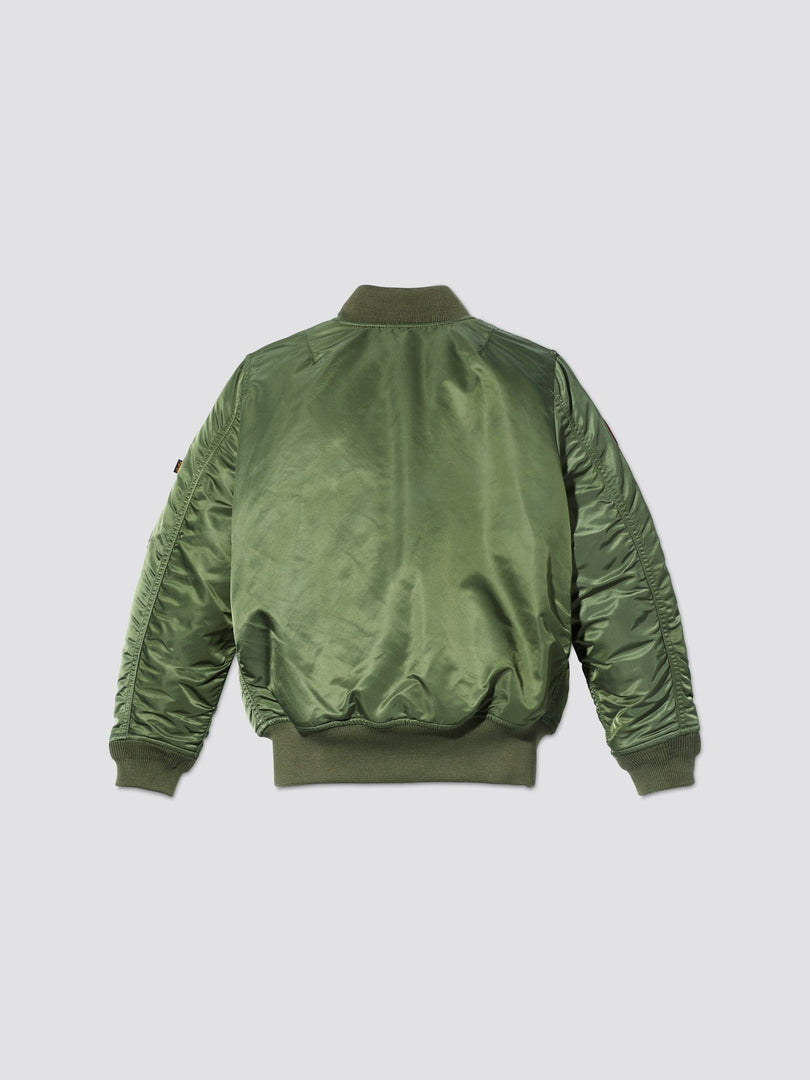 YOUTH MA-1 BOMBER JACKET W/ PATCHES OUTERWEAR Alpha Industries