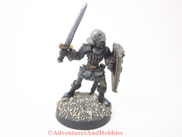 Knight Warrior Fantasy Miniature Longsword 107 Painted Reaper D&D