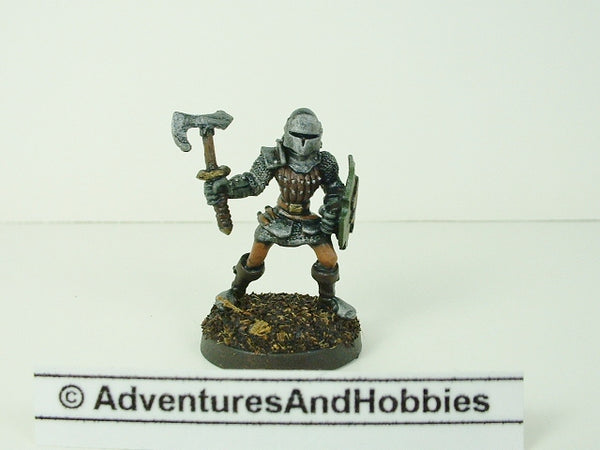 Fantasy Miniature D&D Knight Warrior Battleaxe 116 Painted