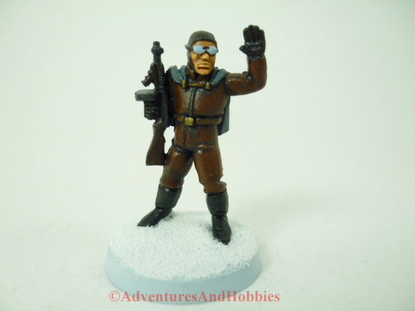 Pulp Sky Pirate Submachine Gun Call of Cthulhu Painted Miniature 128 25mm