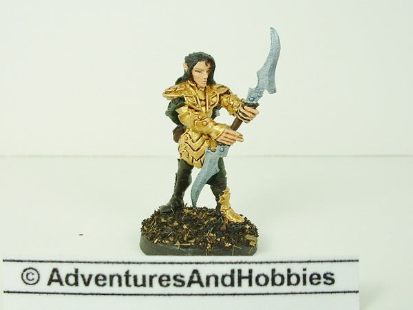 Fantasy Miniature D&D Elf Warrior Knight 131 Painted