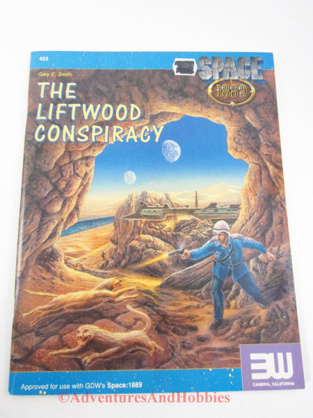 Space: 1889 The Liftwood Conspiracy Adventure Module 3W GDW DQ