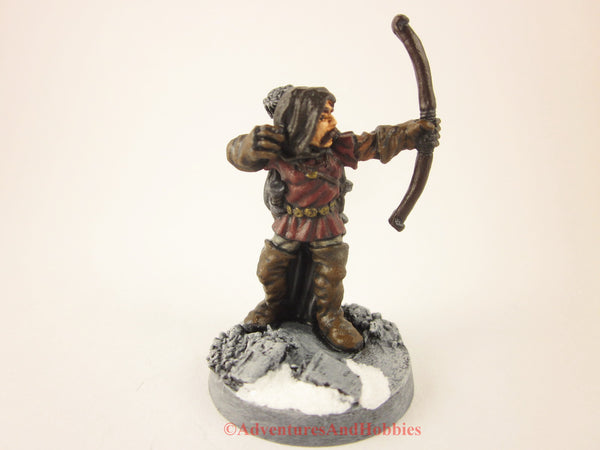 Fantasy Miniature Ranger with Bow 212 Frostgrave D&D 25-28mm Painted