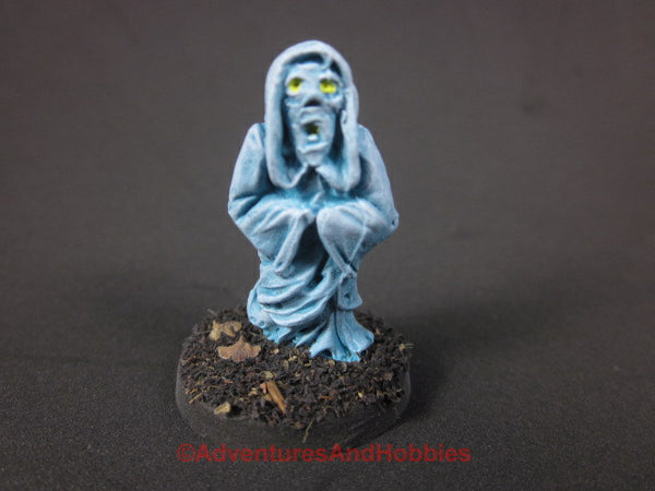 Halloween Horror Miniature Ghost Spirit Specter 214 D&D 25-28mm Painted
