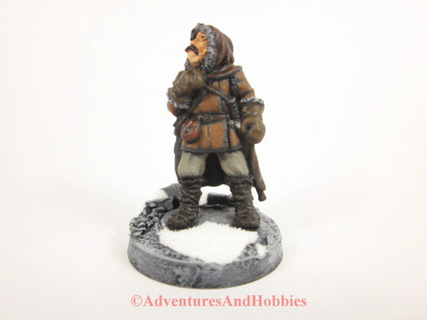 Painted Frostgrave Fantasy Miniature Adventurer Thief 220 D&D 25-28mm
