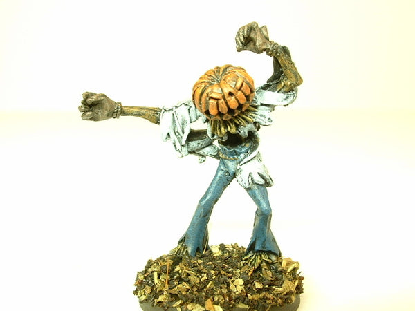 Miniature Halloween Pumpkinhead Scarecrow Horror 223