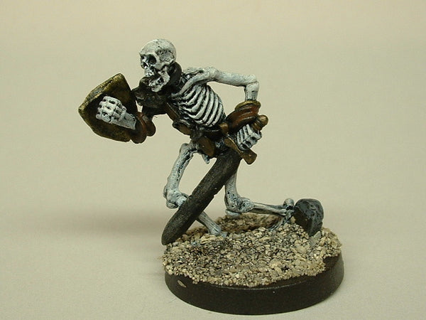 Fantasy Miniature D&D Skeleton Longsword Rackham 228 Painted