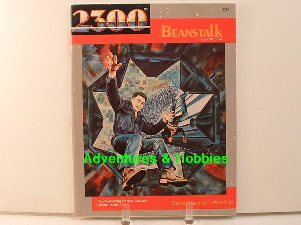 Traveller 2300 Beanstalk Adventure GDW 1987 OOP New C7