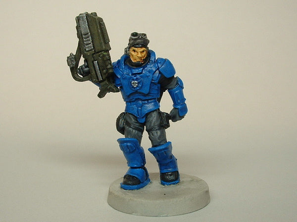 Miniature Science Fiction Trooper Reaper Warhammer 40k 301