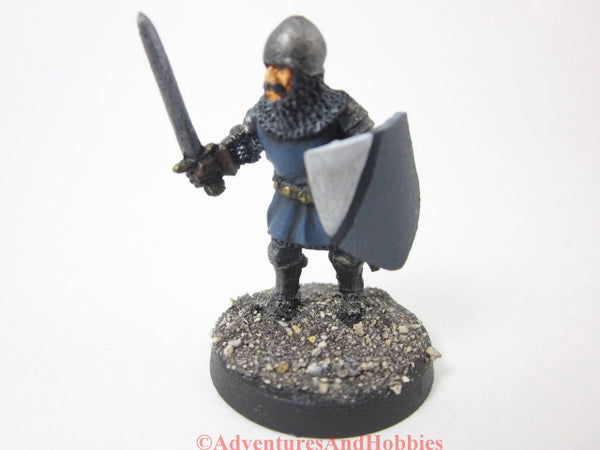 Miniature Knight with Sword 304 Painted Fantasy Figure 28mm D&D