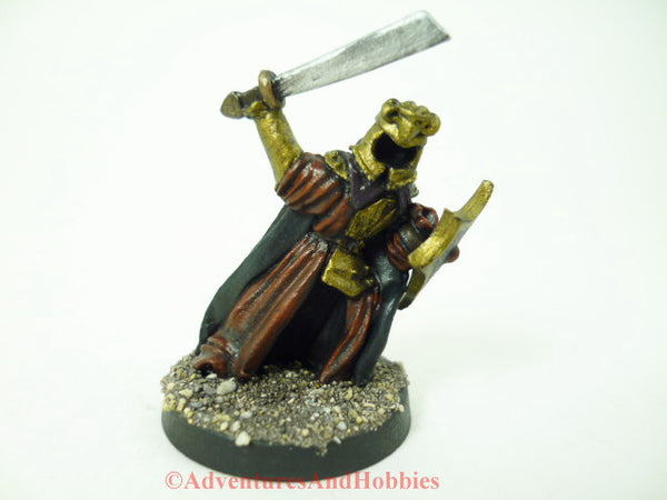 Fantasy Miniature Wraith King Undead Warrior Specter 323 D&D Painted