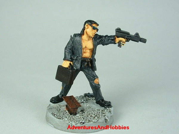 Miniature Post Apocalypse Survivor Hitman 401 Zombies Painted