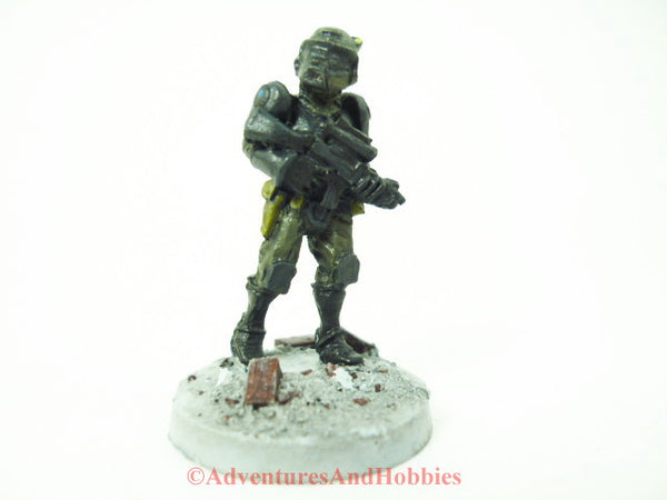 Miniature Post Apocalypse Soldier 405 Science Fiction Zombies Painted