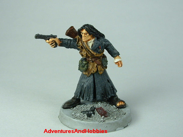 Miniature Post Apocalypse Survivor 417 Zombies Painted