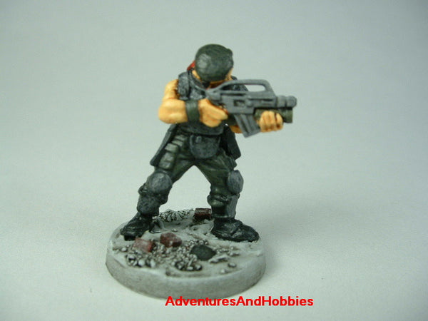 Miniature Post Apocalypse Survivor 424 Zombies Painted 40K
