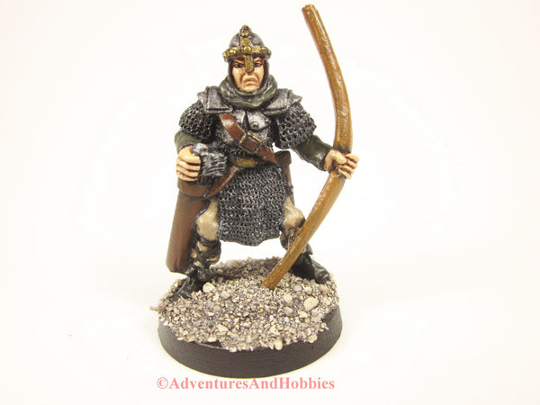 Fantasy Miniature Knight Warrior With Longbow 425 Painted D&D 25mm