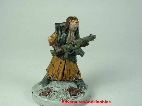 Miniature Post Apocalypse Survivor 430 Zombies Painted