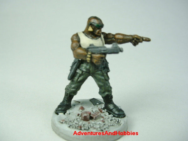 Miniature Post Apocalypse Survivor 431 Zombies Painted