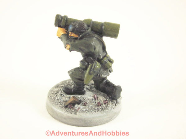 Miniature Post Apocalypse Survivor Soldier 434 Zombies Painted
