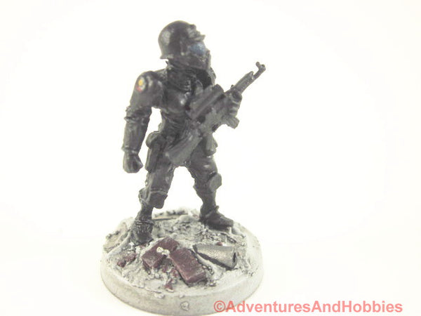 Miniature Post Apocalypse Soldier Sci Fi Trooper 450 Zombies Painted