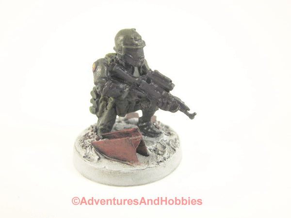 Miniature Post Apocalypse Soldier Sci Fi Trooper 456 Zombies Painted