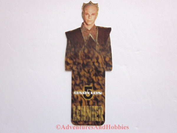 Babylon 5 Lennier Shaped Bookmark B5 1997 DR-D