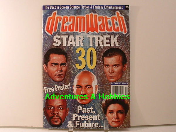 Dreamwatch 23 Star Trek 30 Years Special with Poster Magazine BD